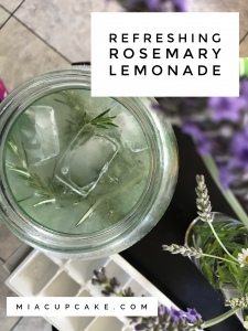 Rosemary Lemonade and Doing Work
