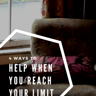 Reaching Your Limit (And 4 Ways To Help)