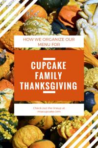 My Thanksgiving List