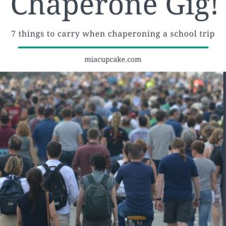 7 Things To Carry When You're Chaperoning a School Trip