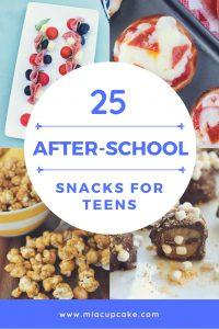25 After School Snacks for Teens
