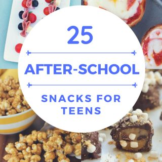 25 After School Snacks for Teens