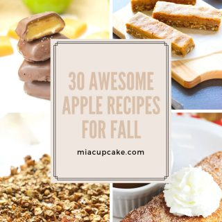 30 Amazing Apple Recipes for Fall