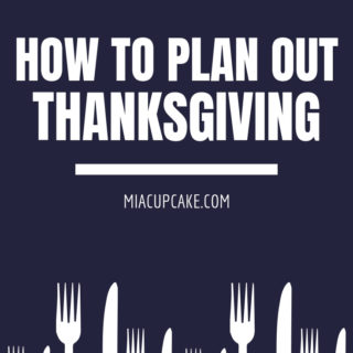 How We Planned Thanksgiving 2018