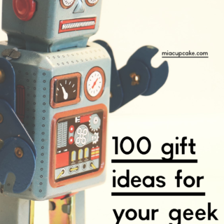 100 Gift Ideas for the Geeky Human in Your Life (including The Child/Baby Yoda!)